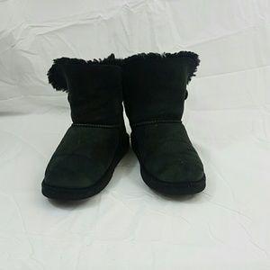 Black UGG Australia girls boots